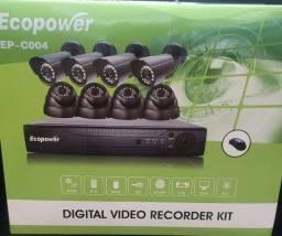 Título do anúncio: Kit DVR com 8 câmeras