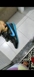 Título do anúncio:  Chuteira da Nike society semi nova, Tam 41 - 100 R$