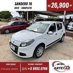 Título do anúncio: Sandero Expression 1.6 2012 completo !!
