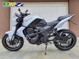Kawasaki Z 750 2010 Branca com 64.000 km