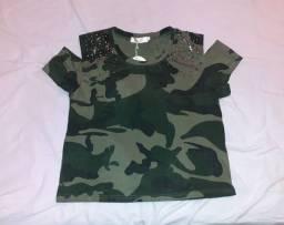 Título do anúncio: Blusa militar NOVA