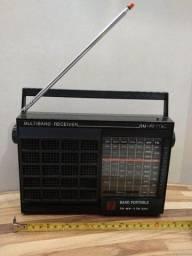 Rádio antiguidade motobras multiband modelo RM-PF71AC