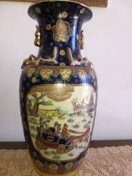 vaso de porcelana chinesa antigo século XIX