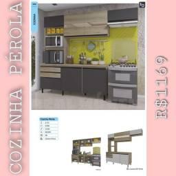 Armário de cozinha pérola / armário pérola