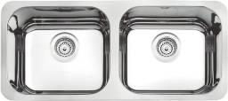 Título do anúncio: Cuba em Aço Inox Alto Brilho 89X39cm, Tramontina *