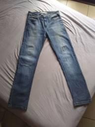 2 calças - Lee - Hering tam. 38 Masc.