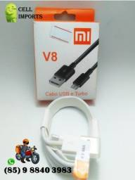 Cabo usb Xiaomi v8  Produto Novo