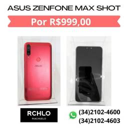 Smartphone asus ZenFone max shot, 64GB, 1 ano de garantia.