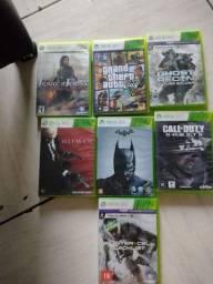 Título do anúncio: Jogos Xbox 360 original pegando perfeitamente