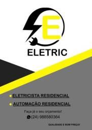 Título do anúncio: Eletricista resindencial e automação