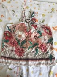 Vendo blusa nunca usada tam M