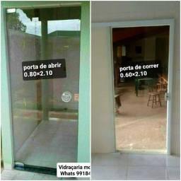 Portas de vidro A PRONTA ENTREGA