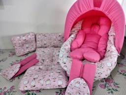 Vendo Colchonete e Kit para carrinho e bebê conforto