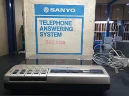 Título do anúncio: Secretaria Eletrônica Antiga Sanyo TAS 3100