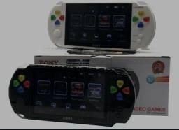PSP Mini Vídeo Game Portátil Eony Mp5/6 Com Câmera