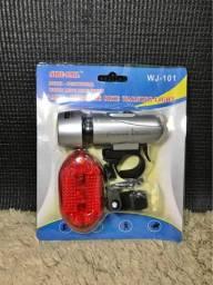 Kit Sinalizador e lanterna traseira para bicicleta a pronta entrega
