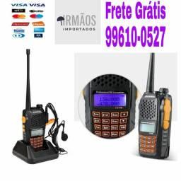 Título do anúncio: Radio Comunicador Dual Band Uhf Vhf Fm Baofeng Uv-6r