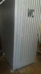 Container  banheiro  para obra.
