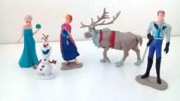Miniaturas Frozen - Lote Com 05 Personagens