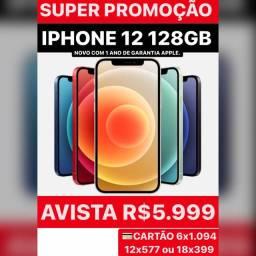 IPHONE 12 128GB NOVO, COM MENOR PREÇO DO BRASIL