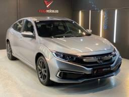 Título do anúncio: Civic - 2020 - Apenas 5.600km  - U. Dono - Exclusividade - Veiga Veículos