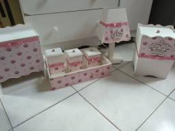 Kit de higiene infantil mdf