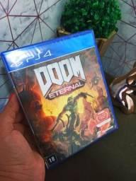 Título do anúncio: DOOM Eternal PlayStation 4 Lacrado Mídia Física