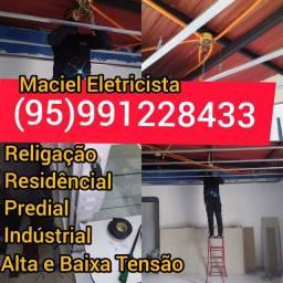 Eletricista Residêncial Predial Indústrial Eletricista