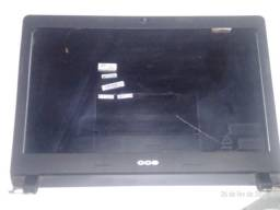Tampa + Moldura do Notebook CCE Ultra Thin U45L