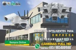 Título do anúncio: Cameras Profissionais para Empresas  e casas