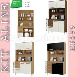 Armário de cozinha Aline / armário de cozinha Aline