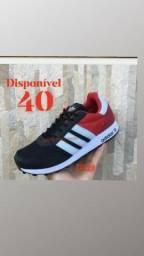 Adidas New vermelho.