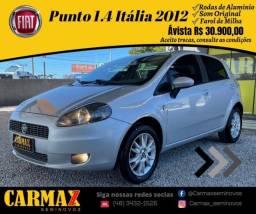 Punto 1.4 Série Italia 2012 Segundo Dono Muito Inteiro
