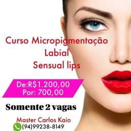 Título do anúncio: Curso Micropigmentação labial
