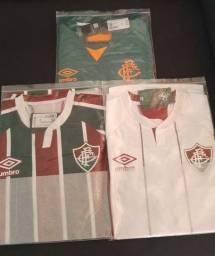 Camisas oficiais do Fluminense