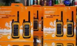 Rádio Comunicador Motorola T400MC 35 Milhas / 56 km Bivolt - Amarelo / Preto