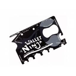 (WhatsApp) cartão ferramenta multifunção wallet ninja 18 em 1