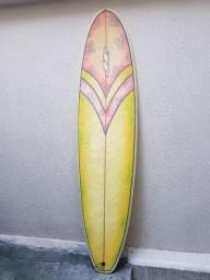 "Prancha de Surf Funboard 7'0"" Usado + 3 Steps"