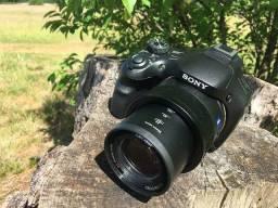Câmera Sony HX400V Cyber-shot Semi-Profissional GPS Wifi Zoom 50x
