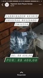 Título do anúncio: Carburado de twister keihin original
