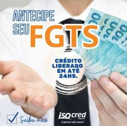 Título do anúncio: ANTECIPAÇÃO DO SAQUE ANIVERSÁRIO FGTS EM ATE 24 HORAS