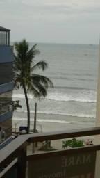 Apto Meia Praia, pé na areia, vista do mar, 3 quartos, 2 vagas, rua 263, 10 pessoas