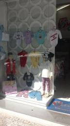 Loja infantil montada funcionando com estoque 7anos passo a loja no centro