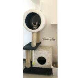 Arranhador de caixa para gatos