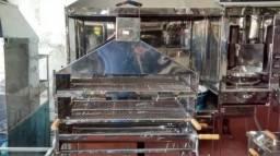 Título do anúncio: Churrasqueira Inox com Coifa 1 Metro