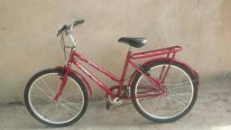 Bicicleta vermelha aro 24
