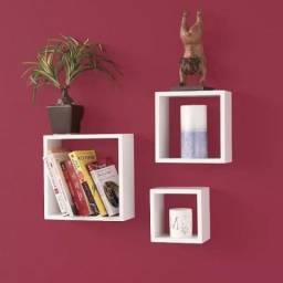 Kit de nichos decorativos – 3 peças