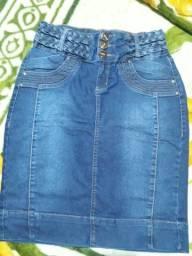 Saia Jeans Stretch