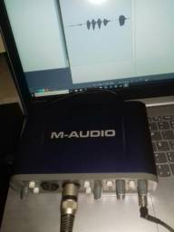 Interface M-áudio venda ou troca em celular