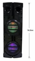 Caixa Amplificada com bluetooth TRC-1000 - Nova na caixa